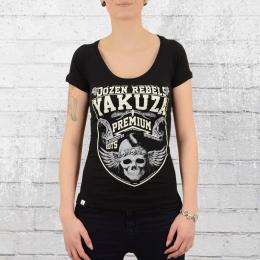 Yakuza Premium Frauen T-Shirt Dozen Rebels schwarz