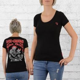 Yakuza Premium Frauen T-Shirt Fallen Heroes schwarz