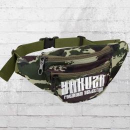 Yakuza Premium Gürteltasche 2175 Bauchtasche camouflage weiss