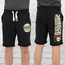 Yakuza Premium Herren Sweat Short Burning Rebels schwarz