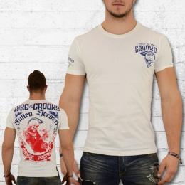 Yakuza Premium Herren T-Shirt Fallen Heroes weiss