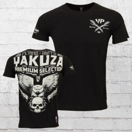 Yakuza Premium Herren T-Shirt Flying Riots schwarz