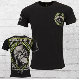 Yakuza Premium Herren T-Shirt Jesus Snuff schwarz