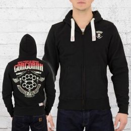 Yakuza Premium Männer Kapuzenjacke Corcoran 2226 schwarz