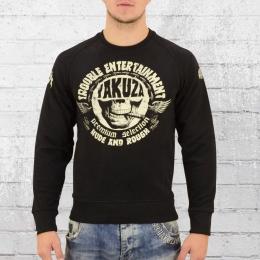 Yakuza Premium Männer Pullover Kill Joy 2328C schwarz