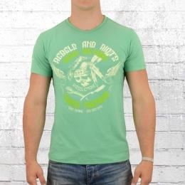 Yakuza Premium Männer T-Shirt Dozen Bastards hellgrün
