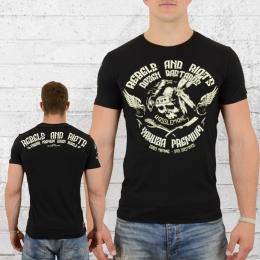 Yakuza Premium Männer T-Shirt Dozen Bastards schwarz