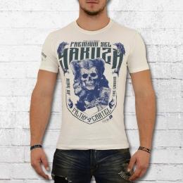 Yakuza Premium Männer T-Shirt Filthy Cartel Joker weiss