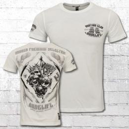 Yakuza Premium Männer T-Shirt Hunting Club weiss