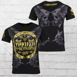 Yakuza Premium Männer T-Shirt Protect And Destroy schwarz