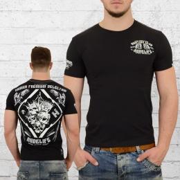 Yakuza Premium Herren T-Shirt 2315 Hunting Club schwarz