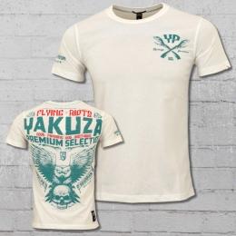 Yakuza Premium T-Shirt Flying Riots weiss