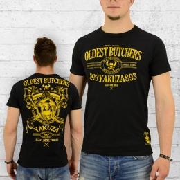Yakuza T-Shirt Männer Oldest Butchers TSB 8015 schwarz