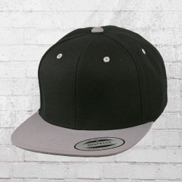 Yupoong by Flexfit Kappe Snapback 2-Tone Cap schwarz grau