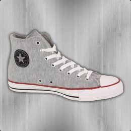 Converse Chucks CT Sweatshirt HI Schuhe grey black