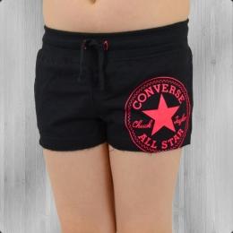 Converse Kinder Mädchen Hot Pants Graphic Shorts schwarz