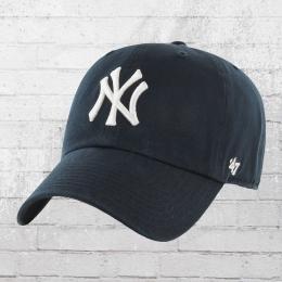 47 Brand Baseball Kappe Curved NY Yankees MLB Cap dunkelblau