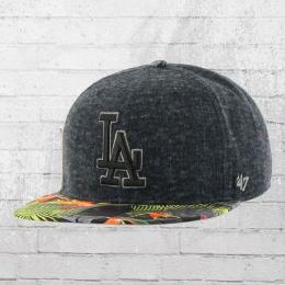 47 Brand Baseballkappe MLB LA Dodgers Snapback Cap grau bunt
