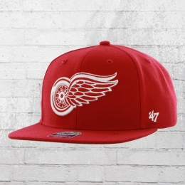 47 Brand Basecap NHL Detroit Red Wings Snapback Hat rot