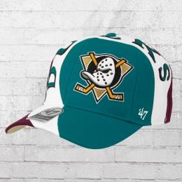47 Brand Cap Anaheim Ducks Circuit türkis weiss lila