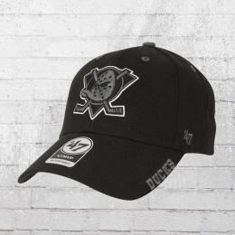 47 Brand Cap Anaheim Ducks Defrost schwarz