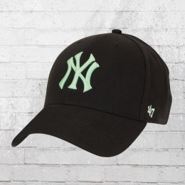 47 Brand Cap NY Yankees Wool All schwarz