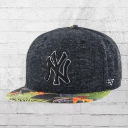 47 Brand Kappe MLB New York Yankees Snapback Cap grau bunt