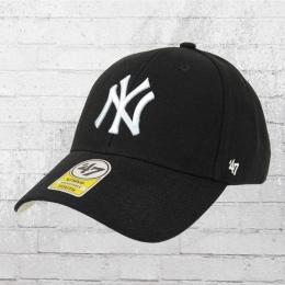 47 Brand Kinder MLB Team Kappe NY Yankees Cap schwarz