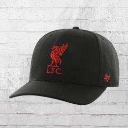 47 Brand Liverpool FC Cap DP LFC Mütze schwarz rot