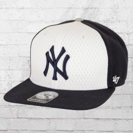 47 Brand MLB New York Yankees Snapback Basecap dunkelblau weiss