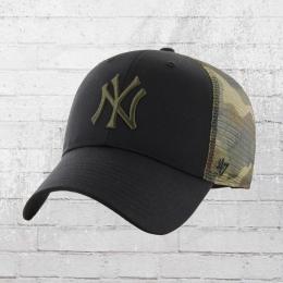 47 Brand NY Yankees Back Switch Trucker Cap schwarz camo