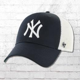 47 Brand NY Yankees MLB Trucker Cap NY blau weiss