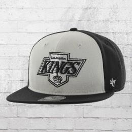 47 Brand Snapback Cap NHL Los Angeles Kings Mütze schwarz grau