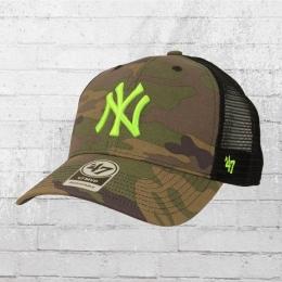 47 Brand Trucker Cap New York Yankees MLB camouflage grün