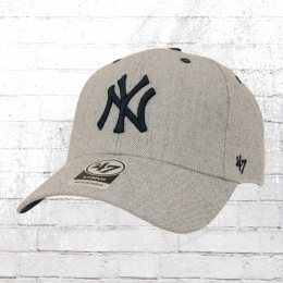 47 Brands Baseball Cap New York Yankees Kappe grau