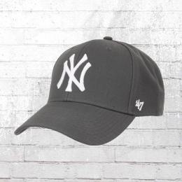 47 Brand Baseball Kappe New York Yankees Snapback Cap grau