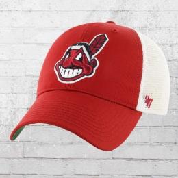 47 Brands Basecap Cleveland Indians rot weiss