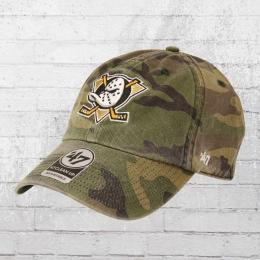 47 Brands Clean Up Baseball Cap Anaheim Ducks camouflage