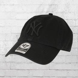 47 Brands Clean Up Baseball Cap New York Yankees schwarz