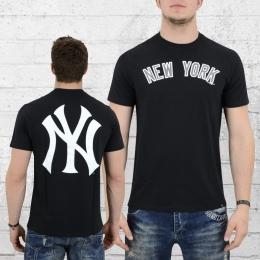 47 Brands Männer T-Shirt MLB NY Crosstown Frozen Rope schwarz