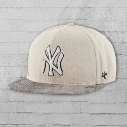 47 Brands MBL Cap New York Yankees Mütze grau reptile