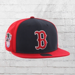 47 Brands Baseball Cap Boston Red Sox Snapback rot schwarz