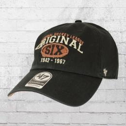 47 Brands NHL Original Six Henrick Clean Up Cap schwarz
