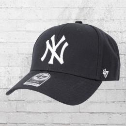 47 Brands Snapback Kappe New York Yankees Baseball Cap blau