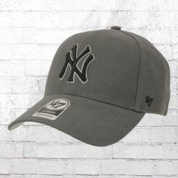 47 Brands Strapback Cap Baseball New York Yankees Kappe grau