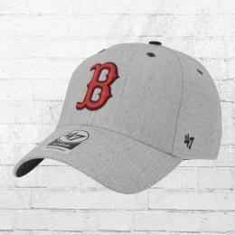 47 Brands Strapback Cap Boston Red Sox Baseball Team Kappe grau