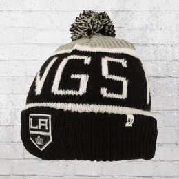 47 Brands Strickmütze Los Angeles Kings Beanie schwarz