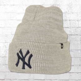 47 Brands Strickmütze NY Yankees Brain Freeze Beanie grau