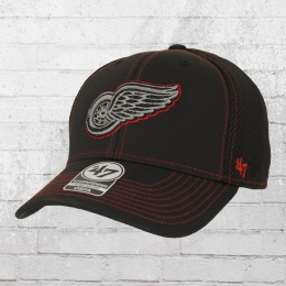 47 Brands Stronaut Contender Detroit Red Wings Cap schwarz