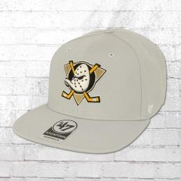 47 Brands Sure Shot Cap Anaheim Ducks grau